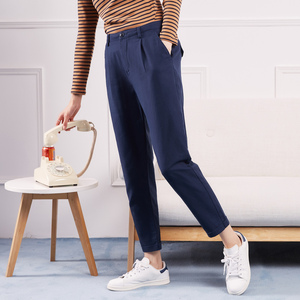 Image 5 - Metersbonwe Casual Harems Pants For Women Long Harems Trousers Woman High Quality Stretch Waist Office Lady Pants 753524