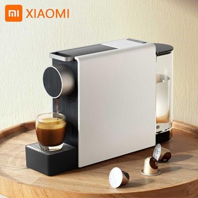 Xiaomi Капсульная кофемашина молотый эспрессо xiaomi Кофеварка горячего и холодного экстракции USB Электрический кофе порошок Mach Капсульные кофемашины      АлиЭкспресс