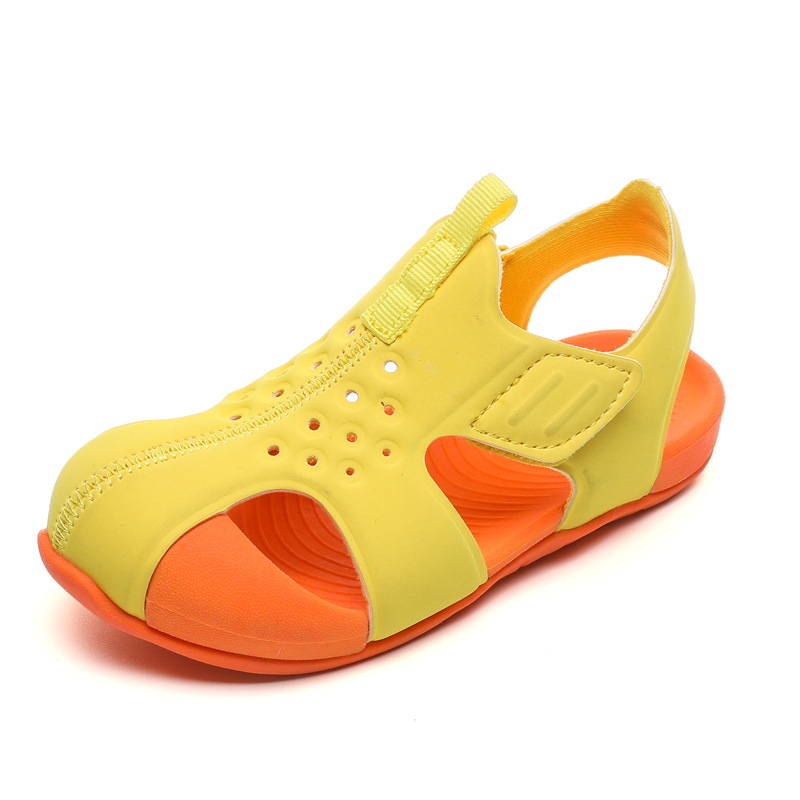 Summer New Kid Functional Sandals Children's Barefoot Sandals Fashion Non-slip Boy Soft Bottom Shoes Light And Comfortable Shoes