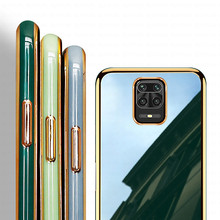Plating-Mirror-Frame-Case Phone-Cover Xiaomi Redmi Coque Note-9 Soft-Silicone for 9-S
