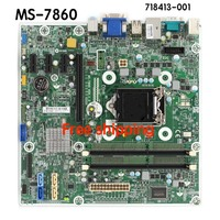 MS 7860 motherboard For HP Pro 400 G1 MT motherboard 718413 001 718413 501 718775 001 motherboard100%tested fully work