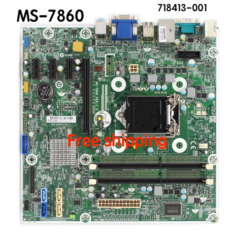 MS-7860 Motherboard For HP Pro 400 G1 MT Motherboard 718413-001 718413-501 718775-001 Motherboard100%tested Fully Work