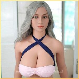 Image 1 - 160cm prawdziwe silikonowe seks lalka s z metalowym szkieletem liferealistyczny anime seks lalka SizeMini realistyczne oralny seks lalka s pochwy cipki dla