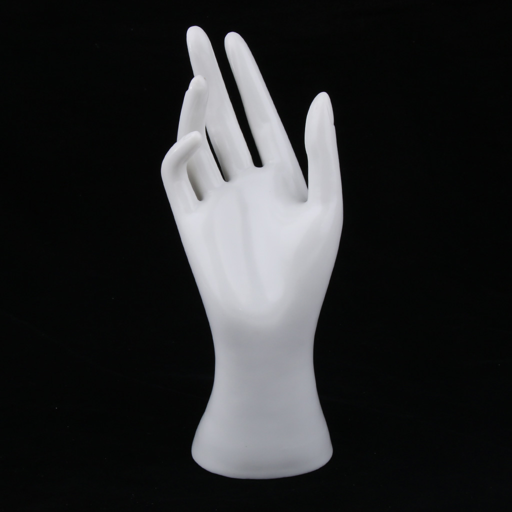 Female <font><b>Mannequin</b></font> <font><b>Hand</b></font> Jewelry <font><b>Bracelet</b></font> <font><b>Ring</b></font> Watch Gloves Display Stand Model for Shopping mall, Jewelry Store and Home image
