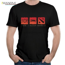 цены Game DotA 2 Print T Shirt Summer Leisure Short Sleeve Fashion Men's Tops Tee