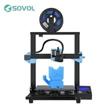 Sovol sv01 extrusora de acionamento direto da impressora 3d 280*240*300mm fonte de alimentação meanwell cama de vidro temperado 95% pré-montado stampante