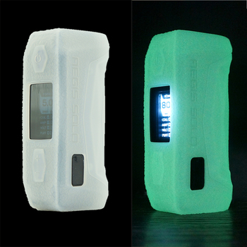 Anti-slip silicone case for GEEKVAPE Aegis solo pod mod vape kit protective texture skin rubber sleeve cover 20pcs