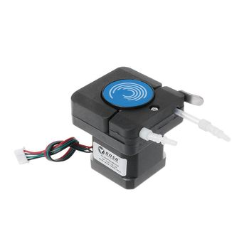 Peristaltic Pump with 42 Stepper Motor Dosing Tubing Hose Pump Small Flow 0-160ML/min 4 roller pom small pulse peristaltic pump 110 v 240 v small flow chemicals dosing
