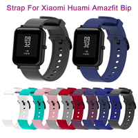 Cinturino da polso cinturino sportivo in Silicone per Xiaomi Huami Amazfit Bip Smart Watch 20MM cinturino di ricambio bracciale accessori intelligenti Mar1