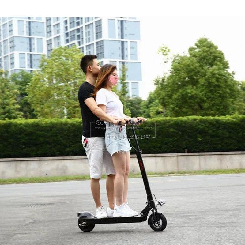 Adults Standing On Scooter Battery bycicle fatbike Foldable e Bicycle 2 Wheel Folding Bike ebike Mini Electric Skateboard