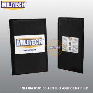 Image 3 - MILITECH 10 x 12 STC&SC And 5 x 8 Pairs Aramid Ballistic Panel Bullet Proof Plate Soft Cummerbund Side Armour NIJ Level IIIA 3A