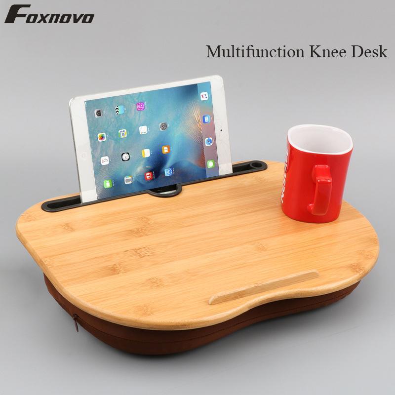 Laptop Table Multifunction Knee Lap Desk Computer Phone Flip Portable Outdoor Headrest Office Nap Pillow HH374700CS2