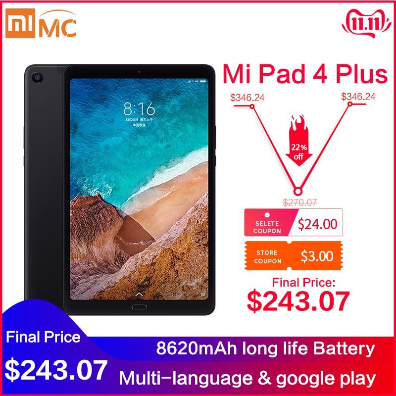 Original Xiaomi Mi Pad 4 Plus PC Tablet 10.1