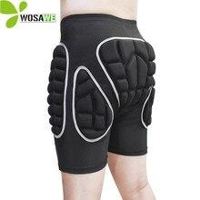 WOSAWE толстый защитный коврик EVA шорты для скейтбординга роликовые хоккейные ягодицы хип-протектор мотоциклетные MTB сноуборд лыжные короткие штаны