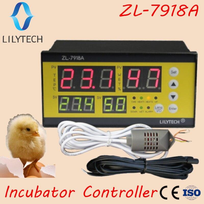 XM 18, ZL 7918A, инкубатор для яиц, многофункциональный автоматический контроль температуры и влажности, 100 240Vac, CE, ISO, Lilytech, xm 18|humidity controller|temperature humidity controlleregg incubator controller | АлиЭкспресс