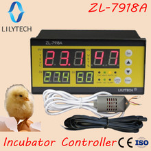 ZL-7918A,100-240Vac, Multifunction Automatic Incubator, Incubator Controller, Temperature Humidity Lilytech, xm-18