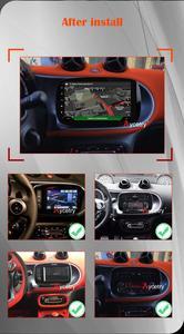 Image 5 - PX6 Autoradio 1 Din Android 10 Multimedia Speler Dvd Gps Autoradio Voor Mercedes/Benz Smart Fortwo 2015 2018 Audio Navigatie Gps