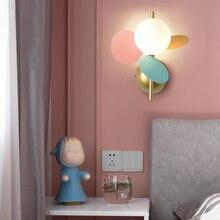Настенный светильник artpad светодиодный в форме цветка современный