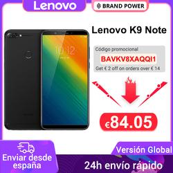 Global Version Lenovo K9 Note 3GB 32GB 6 inch Smartphone Snapdragon Octa Core Face ID Android 8.1 16MP Camera 3760mAh Battery