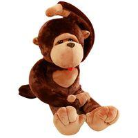 43 Huge Size Cartoon Big Mouth Monkey Plush Toy The Gorilla Diamond Plush Doll R7RB