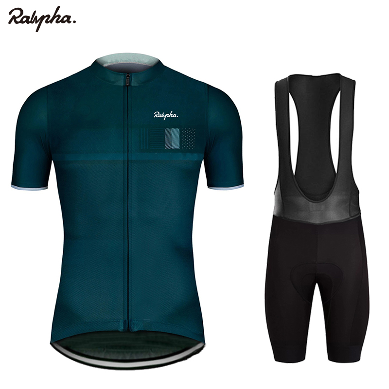 Raphaing Cycling Sets Triathlon Bicycle Clothing Breathable Anti-UV Mountain Cycling Clothes Suits ropa ciclismo verano gobiking