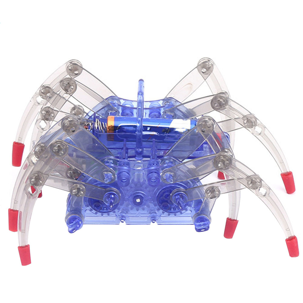 Electric Spider Robot Toys Kit DIY Educational Intelligence Assembles Kids Toy  Science Education Toys Reproduce  Spider Toys