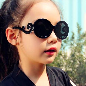 Dzieci modne okulary przeciwsłoneczne słodkie okulary przeciwsłoneczne UV400 silikonowe sportowe okulary przeciwsłoneczne dla dziewczynek chłopców okulary tanie i dobre opinie Unisex Z tworzywa sztucznego Sunglasses Children UV400 Silicone Radiation protection