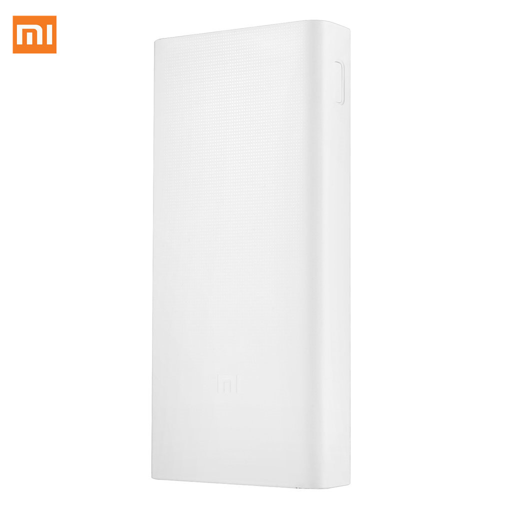 Original Xiaomi Power Bank 20000mAh 2C Portable Charger Support QC3.0 Dual USB Mi External Battery Bank 20000 For Smartphone