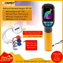 Snelle Levering 2.4 Inch Kleur Handheld Infrarood Thermometer Thermometer Camera, 3600 Pixels 60*60 Resolutie HT 02/HT 175/HT 18