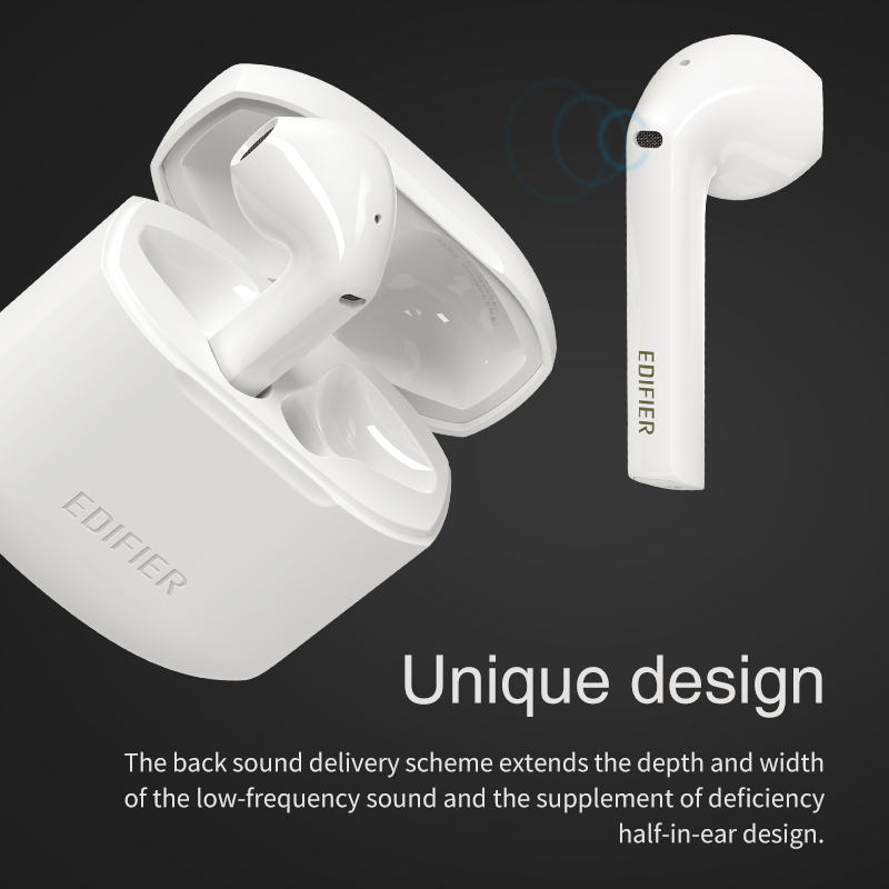 EDIFIER TWS200 TWS Earbuds Qualcomm aptX Wireless earphone Bluetooth 5.0 cVc Dual MIC Noise  cancelling up to 24h playback time 6