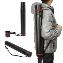 Multifuncional ajustável ferramenta de tiro com arco 65-105 cm arco seta quiver tubo volta ombro caso saco caça acessórios