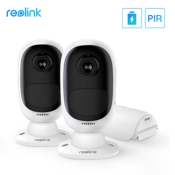 Reolink Argus 2 Wireless Wire-Free Battery IP Camera Full HD 1080P 2MP Outdoor Indoor IP65 Weatherproof Security Cam Wide View - discount item  48% OFF Video Surveillance