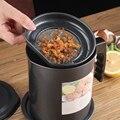 1 3 L Dicht Können Fett Container Küche Werkzeug Wasserkocher Kochen Separator Multifunktions Braten Topf Mit Sieb Öl Lagerung-in Saucieren aus Heim und Garten bei