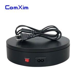 Image 2 - ComXim MT200AL15 30sec/lap 220V 20cm 360 Graden Automatische Elektrische Draaitafel Fotografie Sieraden Display Stand