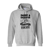 Daddy And Daughter Best Friends For Life Hooded Men Clothes Harajuku Hip Hop Casual Tops Hoodies Sweatshirts Men Print Plus Size