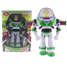 Toy Story 4 Buzz Light year Toys Talking Lights Speak English Joint Movable 3 Action Figure Collectible Doll