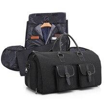 Portable Waterproof Luggage Bag Business Travel Suit Shoes Shirt Storage Organizer Multifunctional Home Wardrobe Clothing Items