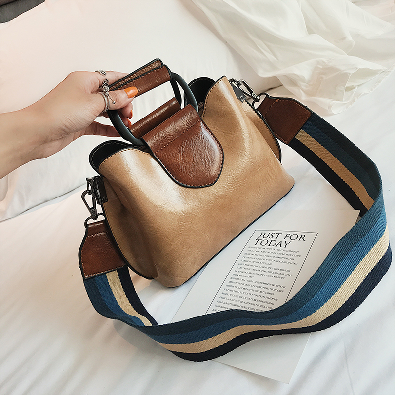 Pu Leather Luxury Handbags Women Bags Designer Panelled Handbag Shoulder Bag New Fashion Large Capacity Women Crossbody Bag