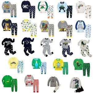 Image 1 - Joyond Jungen Pyjamas Sets Kinder Dinosaurier Cartoon Pyjamas Baby Kleidung Sets Pijamas Infantil Kleidung für Jungen 2 12Years