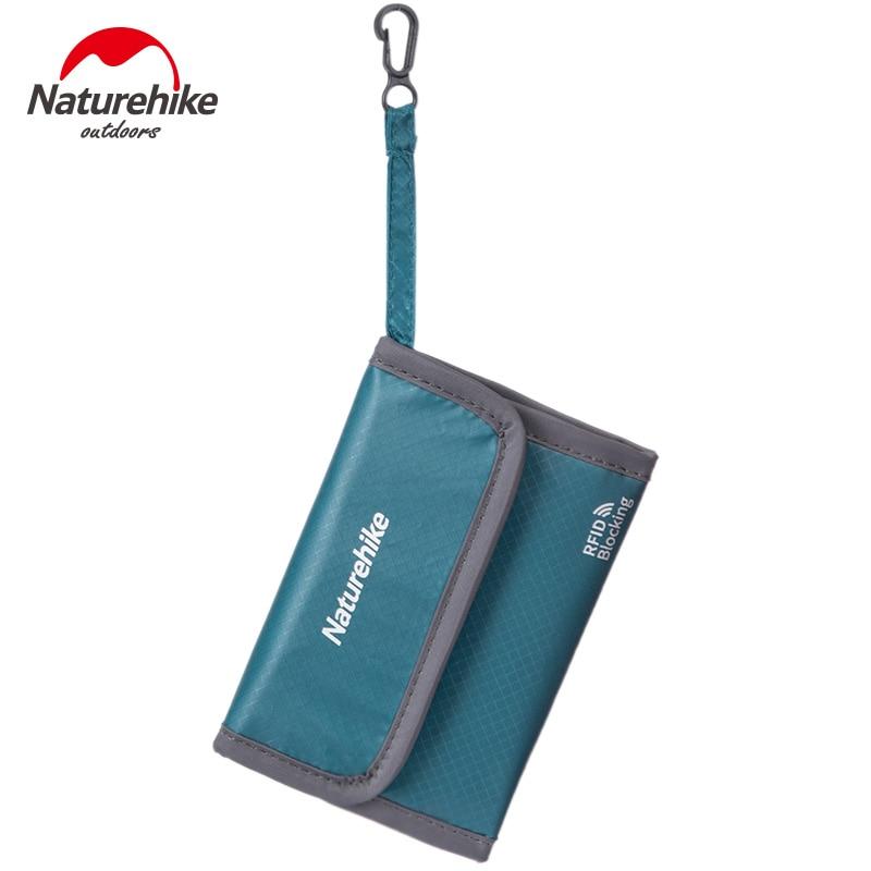 Naturehike Monery Bag RFID Blocking Travel Wallet Multi-Functional Ticket Credit Card Storage Bag Water-Resistant Purse