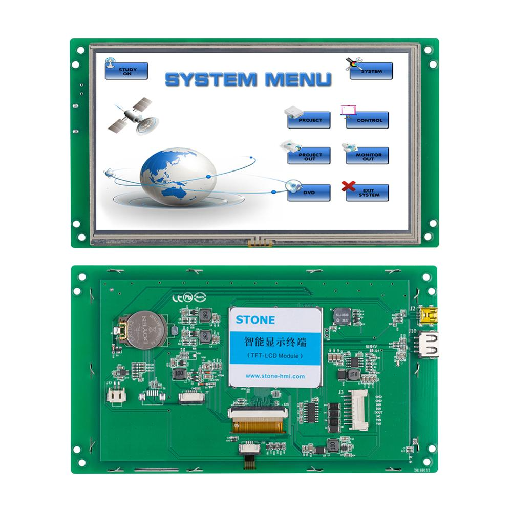 7.0 Inch Intelligent HMI Touch Display Module With Serial Interface For Smart Home