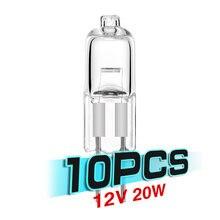 Tsleen дешевые 10x dc 12v 20w g4 галогенные лампы теплый белый