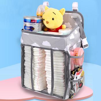 Dziecko łóżko dla noworodka przechowywanie organizator szopka wisząca torba do przechowywania Organizer do wózka na komplet pościeli dziecięcej torba do przechowywania pieluch komplety pościeli tanie i dobre opinie Tote Bag CN (pochodzenie) zipper W wieku 0-6m 7-12m 13-24m 25-36m 3-6y Unisex Mikrofibra 20cm 28cm (20 cm Max Długość 30 cm)