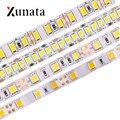 Гибкая светодиодная лента, 5 м, 12 В, 60 светодиодов/м, 120 светодиодов/м, 240 светодиодов/м, водонепроницаемая светодиодная лента SMD5050, 5054, 2835, 5630 дл...