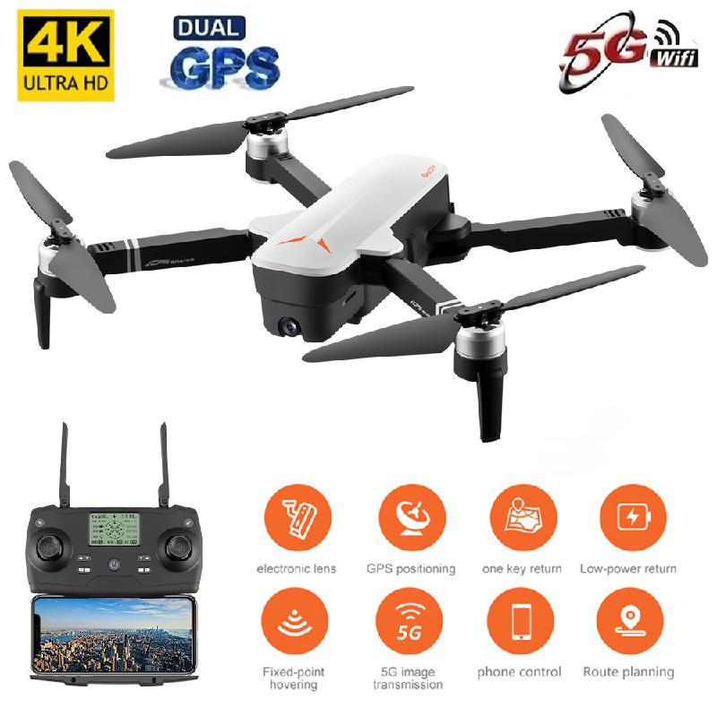 8811 <font><b>Drone</b></font> Gps One-click Return Home 5g <font><b>4k</b></font> Hd Dual Camera Gesture Aerial Photography Foldable Control <font><b>Brushless</b></font> Motor Quadcopter image