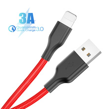 USB Cable For iPhone X XS MAX XR 8 7 6 5 S plus Cable Fast Charging Cable Mobile Phone Charger Cord Usb Data Cable mcdodo usb cable for iphone apple x xs max xr 8 7 6 5 6s plus cable fast charging cable mobile phone charger cord usb data cable