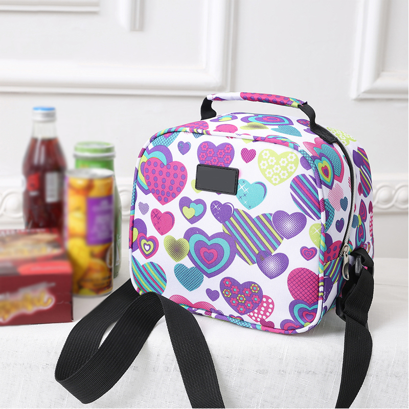 Portable Waterproof Insulated Lunch Bag Thermal Cooler Bag Tote Travel Organizers Outdoor Picnic Box Kid Bento Food Storage Pack