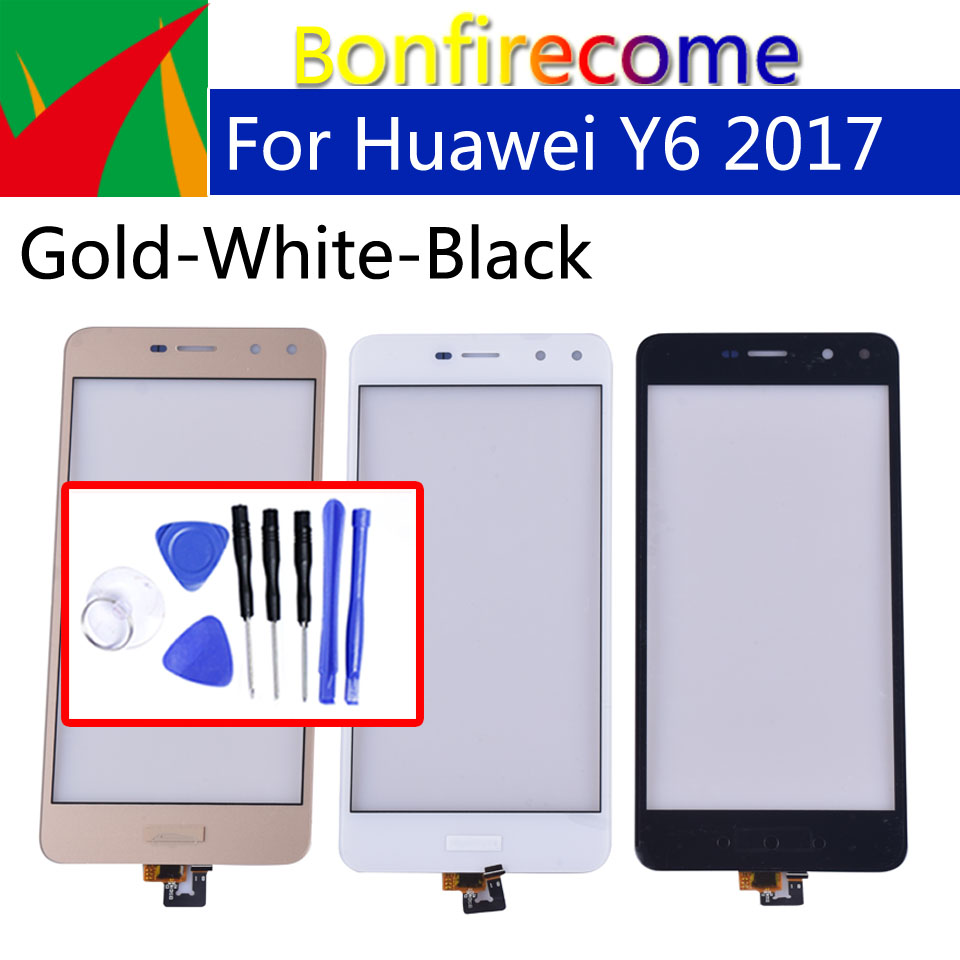 "5.0"" Touchscreen For Huawei Y6 2017 MYA-L03 MYA-L23 MYA-L02 MYA-L22 Touch Screen Panel Sensor Digitizer For Hauwei Nova Young"