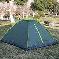 Fabrikanten Directe Verkoop Outdoor Benodigdheden Waterdichte Zon-slip Ongediertebestrijding Gemakkelijk te Bouwen Tent Outdoor Camping Double-pe