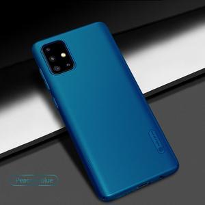 Image 2 - Per Samsung Galaxy A51 A71 A21S A50 A50S A30S A40 A60 A70 Caso Nillkin Glassata Shield Dura del PC Della Copertura Posteriore per Samsung Caso di A51